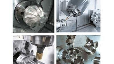 CNC tornalama merkezi uygulamaları