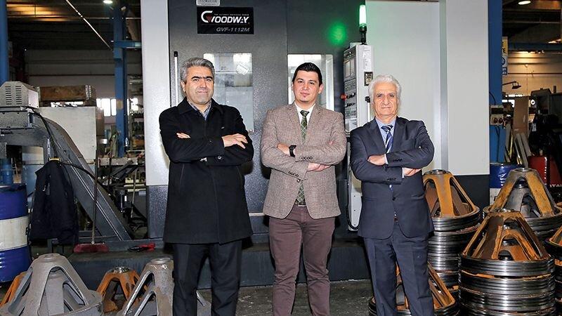 Kromlüks Fabrika Müdürü Mahmut Tok: ''Kaoming KMC-2000SV ve Goodway GVF-1112M tezgahların ürün kalitesinden memnunuz''
