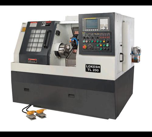 LOKESH TL 200 CNC Torna Tezgahı